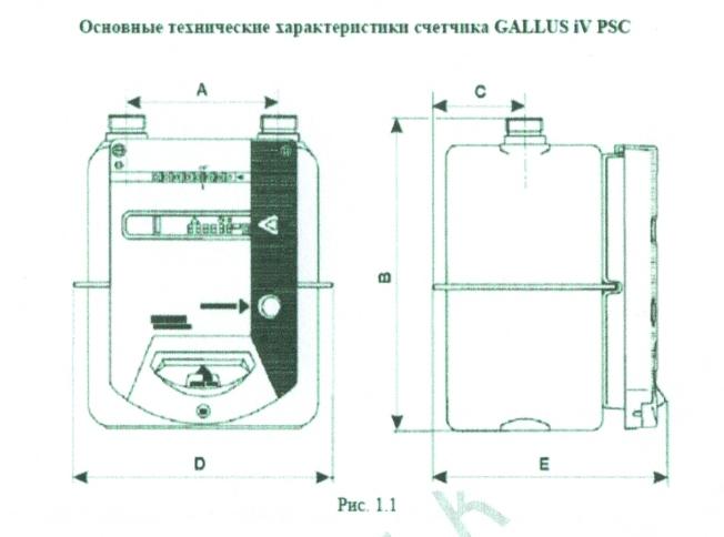 Actaris Gallus 2002 Инструкция